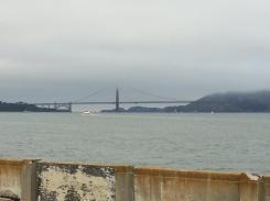 Golden Gate Bridge Shrouded in Mist