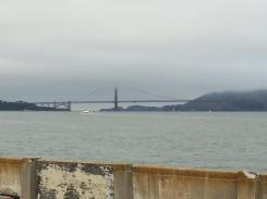 Golden Gate Bridge Shrouded in Mist